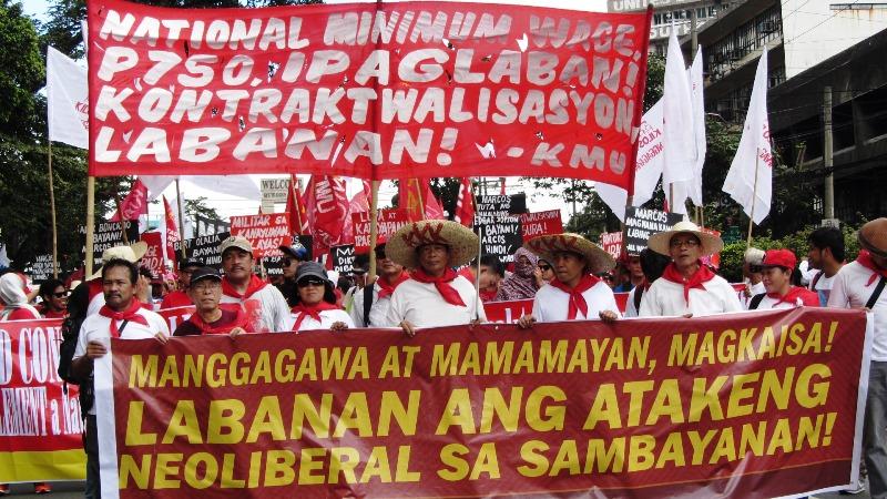 Bonifacio Day rally