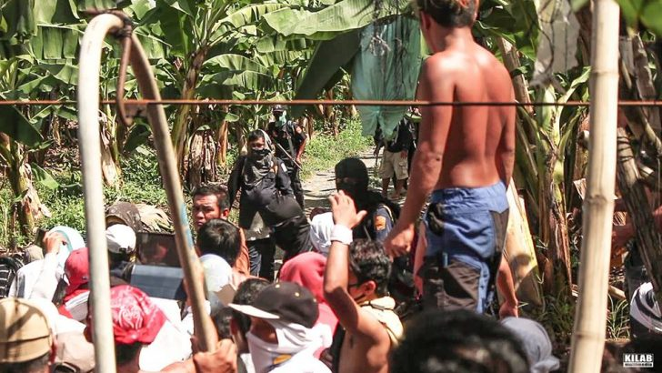 Armed men shoot farmers reclaiming banana plantation; 7 hurt