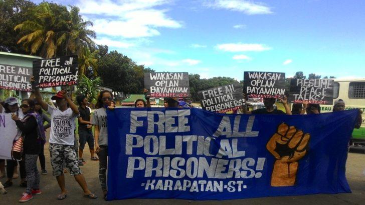 Political prisoners, kin, start fasting