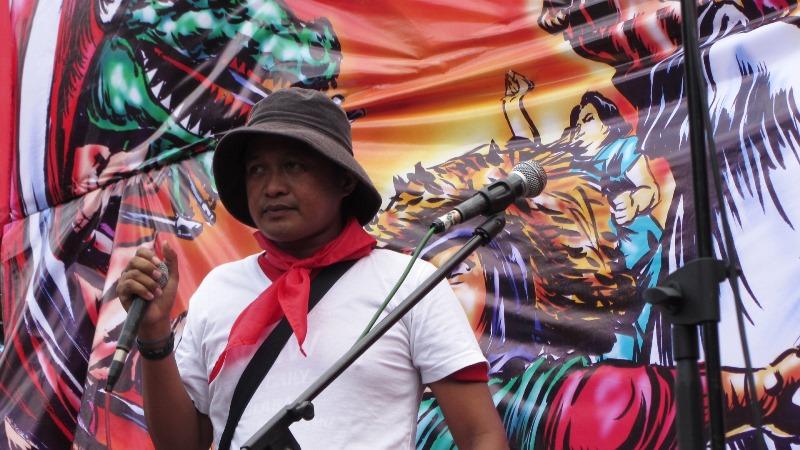 Union leader Bonifacio Day