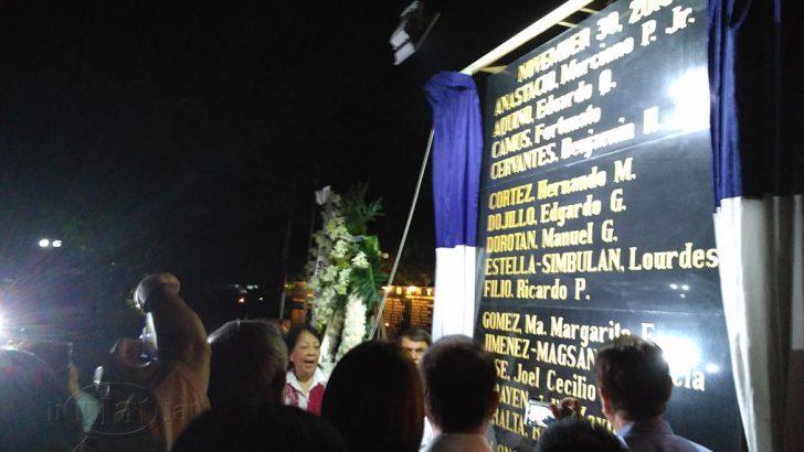 19 real heroes hailed at Bantayog ng mga Bayani