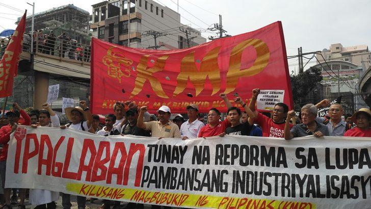Peasants lament Duterte's appointment of 'DDS minion' as acting agrarian reform chief