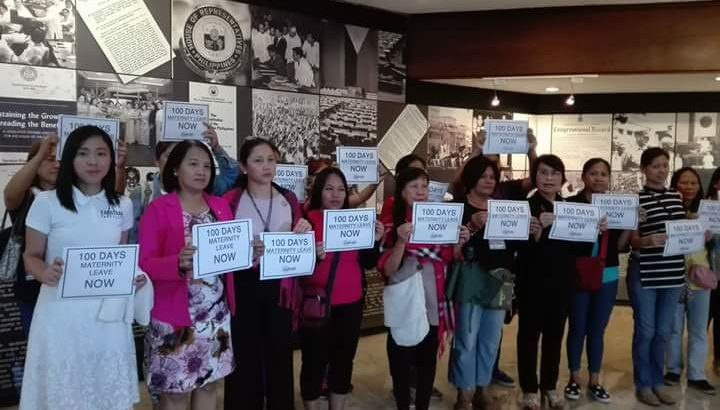Solons push for 100-day paid maternity leave bill