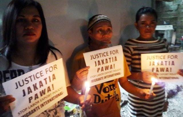 OFW Jakatia Pawa's death a result of PH govt policy of delayed legal aid — Migrante