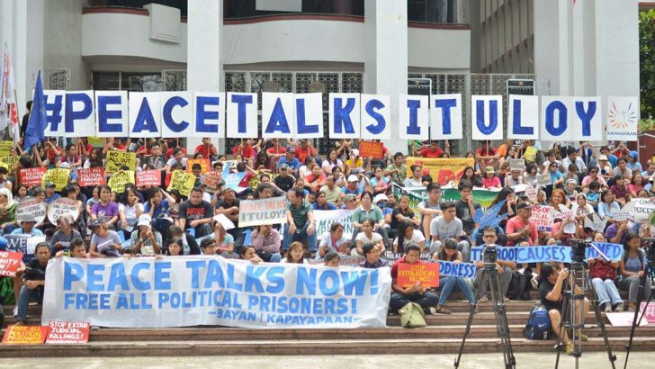 Calls for resumption of GRP-NDFP peace talks reverberate