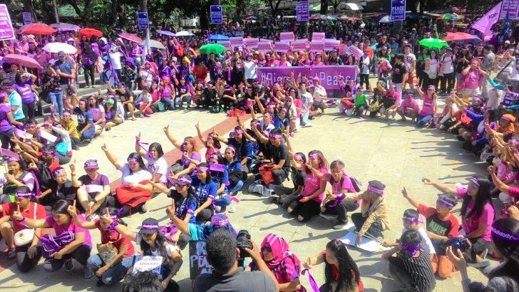 #OneBillionRising 2017 | Women call for resumption of GRP-NDFP peace talks