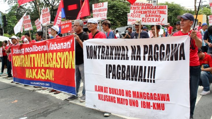 State workers demand end to contractualization
