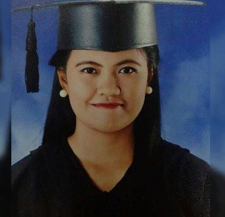 Danah Marie Marcellana (image courtesy of Orly Marcellana)