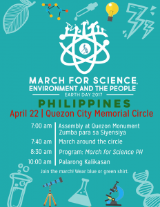 March for Science, Environment, and the People program