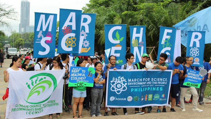 Filipinos join international March for Science