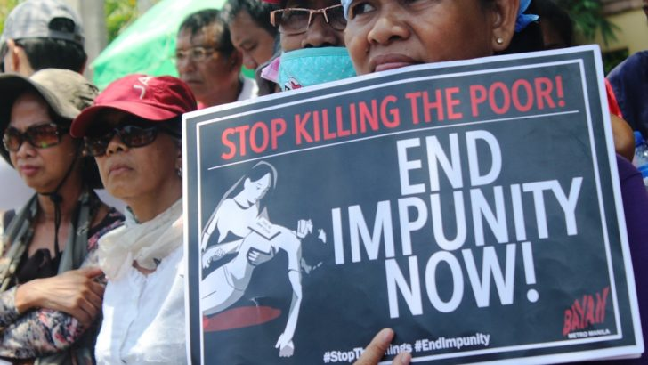 Sinas, Parlade appointments worsen impunity, rights group says