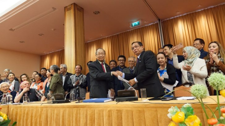 NDFP, GRP sign interim joint ceasefire agreement