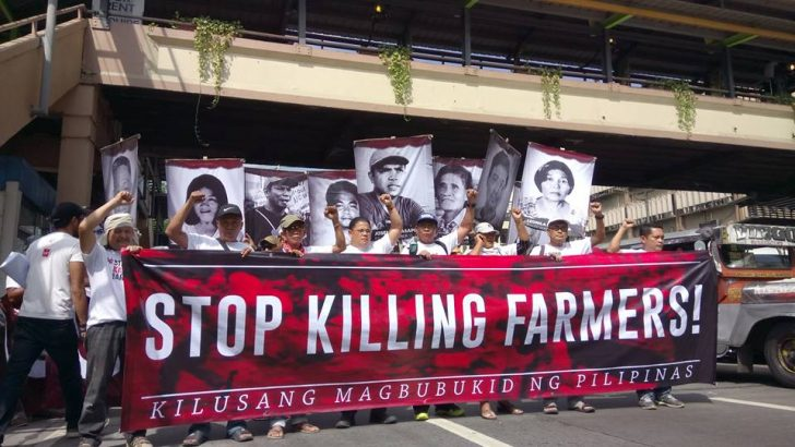 Peasant killings on the rise, 109 murdered