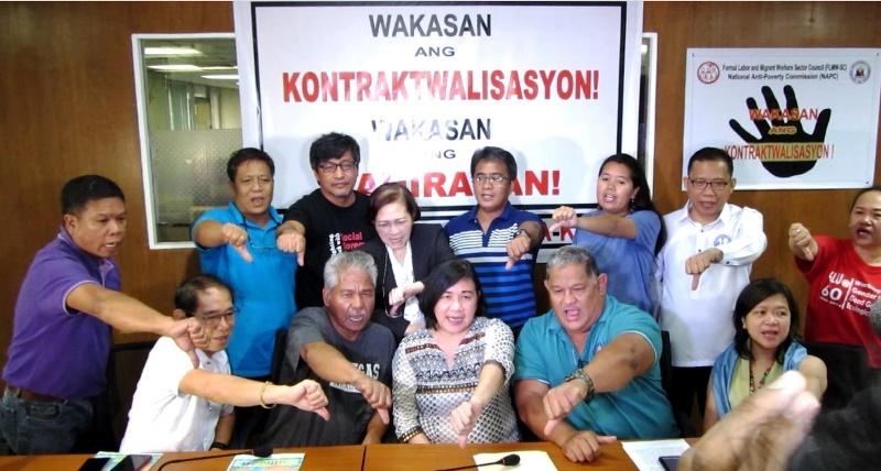 NAPC against contractualization