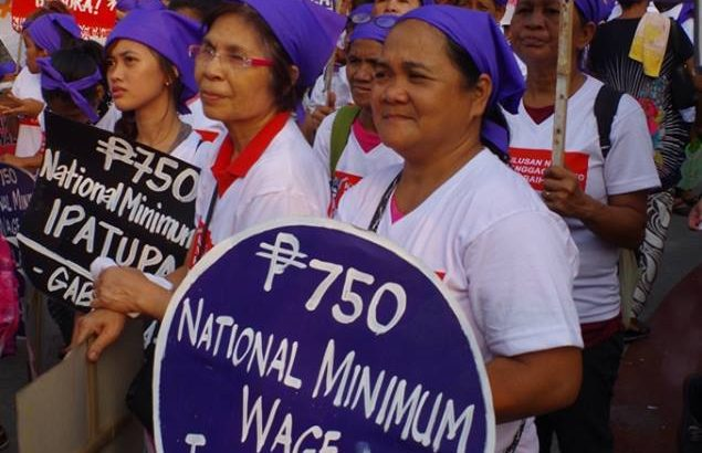 P750 minimum wage possible, non-inflationary, good for the economy — IBON