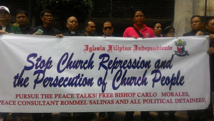 Church groups launch campaign to free detained Aglipayan bishop