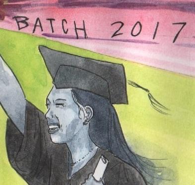 Pagpupugay sa Batch 2017! Nagmahal, Nagsikap, Nagtagumpay