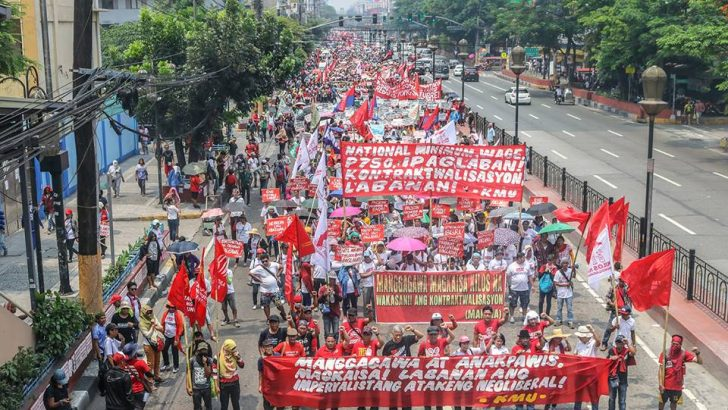 PH working class shows organized force in first Labor Day under Duterte