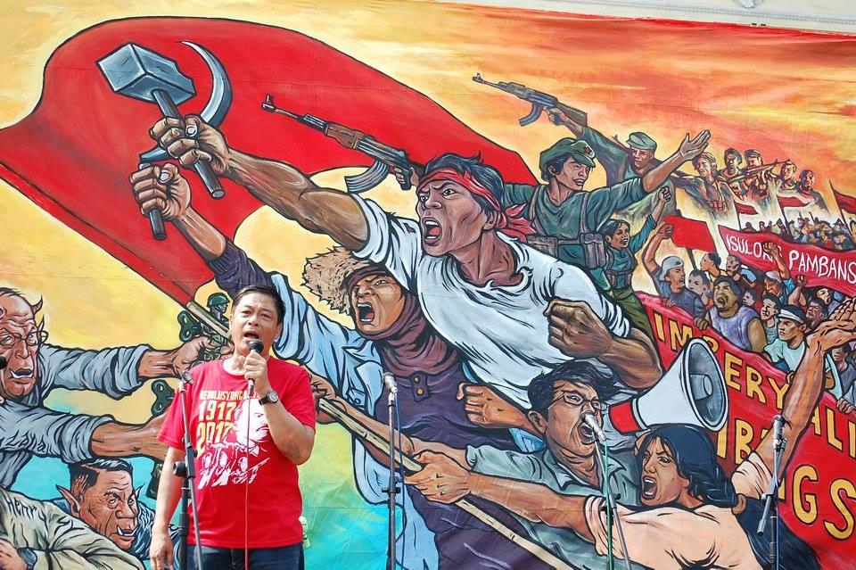 KMU chairperson Elmer Labog (Photo by Mon Ramirez/Arkibong Bayan)