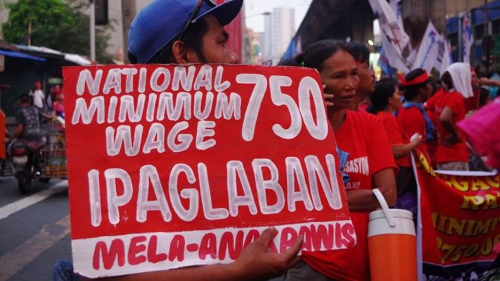 Progressive solons, workers push for nat'l minimum wage