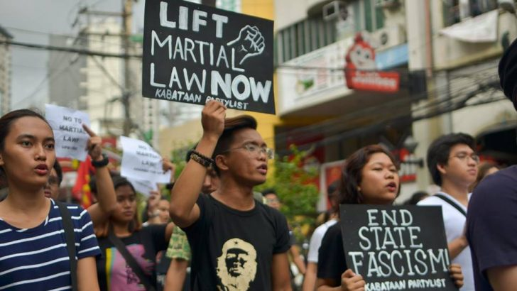 Groups to Duterte: 'Never again to martial law'
