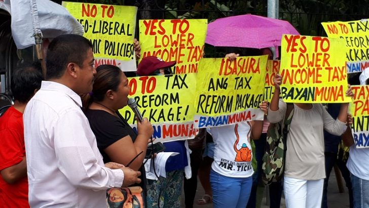'Poor to be taxed more, rich to get more perks' — Bayan Muna on DOF's tax reform bill