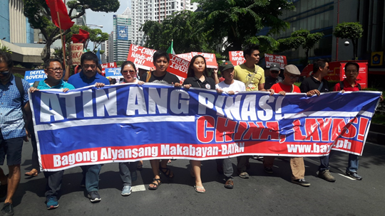 'Bogus freedom': June 12 rallyists assert PH sovereignty vs US and China