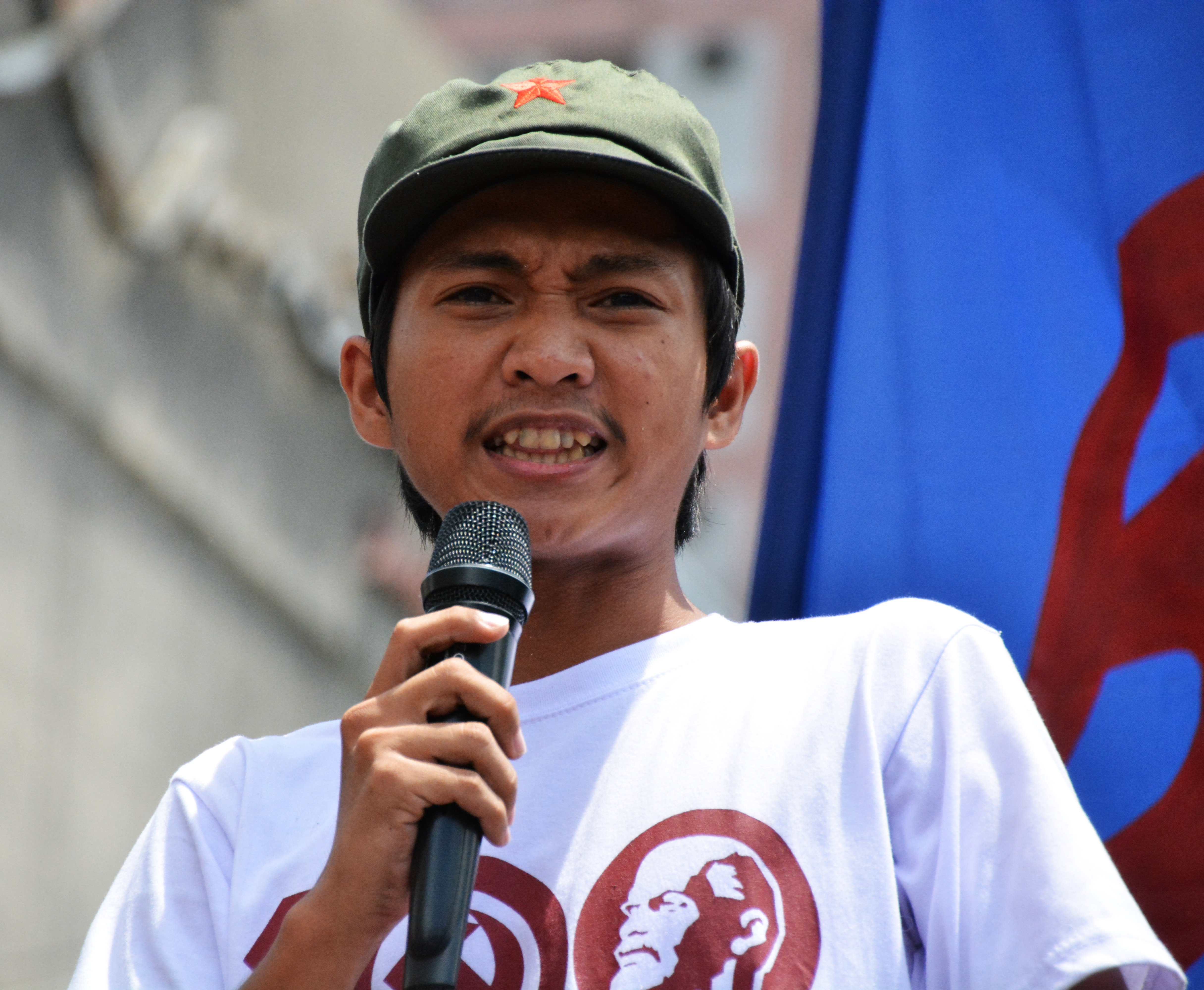 JP Rosos, LFS national spokesperson (Photo by Mary Angelique Tacata/Bulatlat)