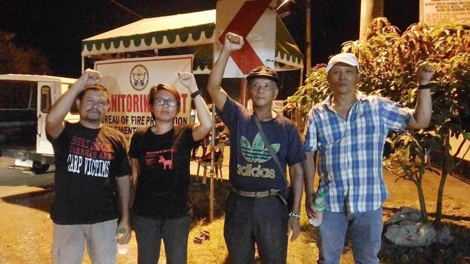 From left: Pedro Arnado, Hanimay Suazo, Lito Lao and Gerry Alborme.  (Contributed photo)