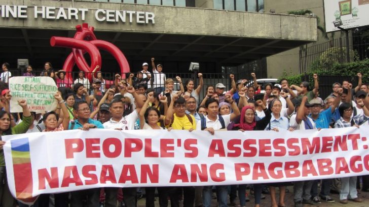 Duterte 1st year  'Make good on your promises to the people' – progressive groups
