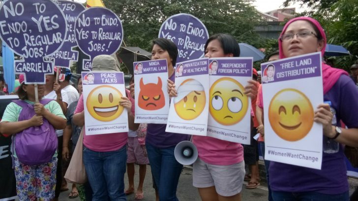 Duterte's 1st year | Activists rate President with 'sad, afraid, angry' emojis