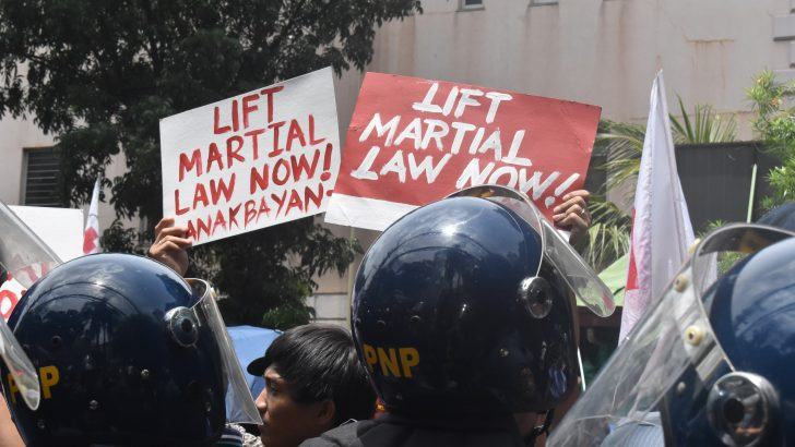 A disturbing proposal on martial law imposition