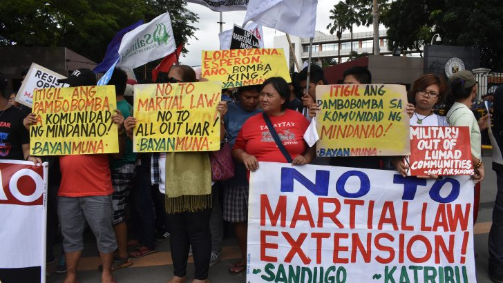 Progressive solons stress human rights violations in vote vs. Mindanao martial law extension