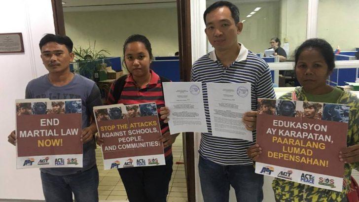 Makabayan bloc wants Congress probe on armed attacks on Lumad schools