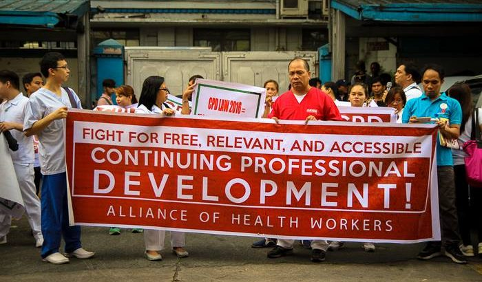 'Continuing professional development program should be free' – health groups