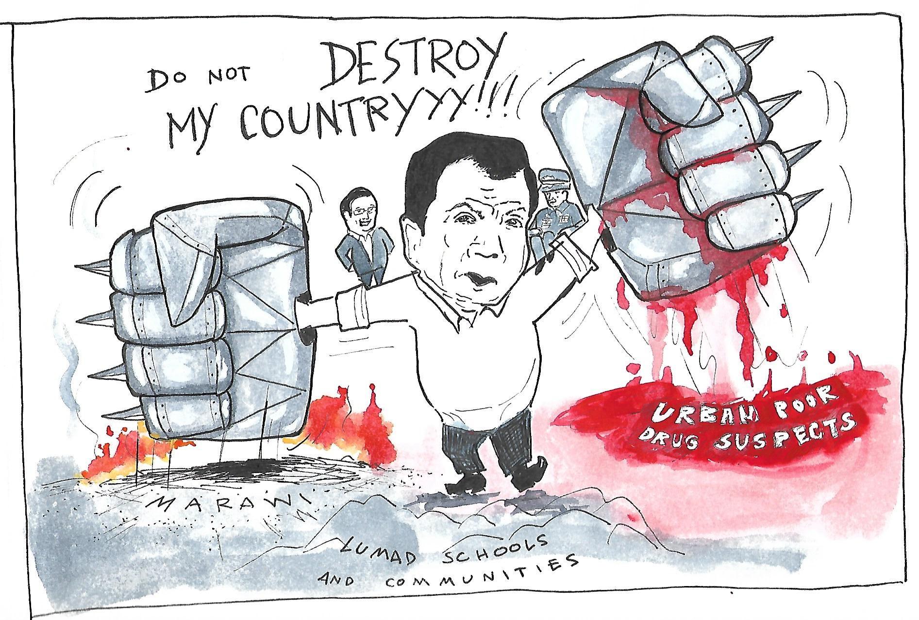 Illustration by Dee Ayroso/Bulatlat