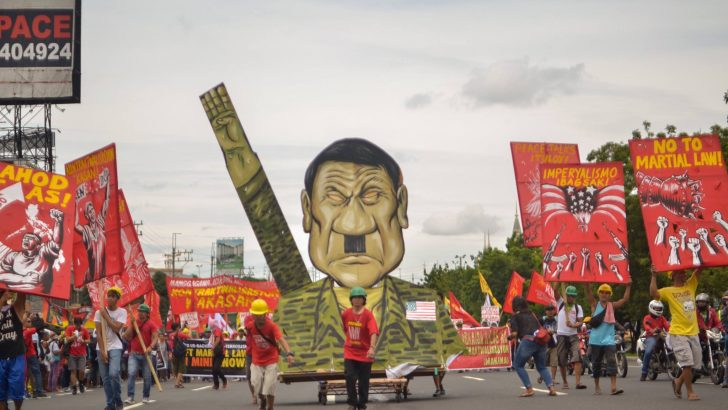 Like Marcos and Arroyo, Duterte errs on rebellion