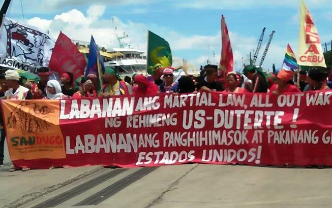 Mindanao's Sandugo delegates to Lakbayan welcomed in Masbate
