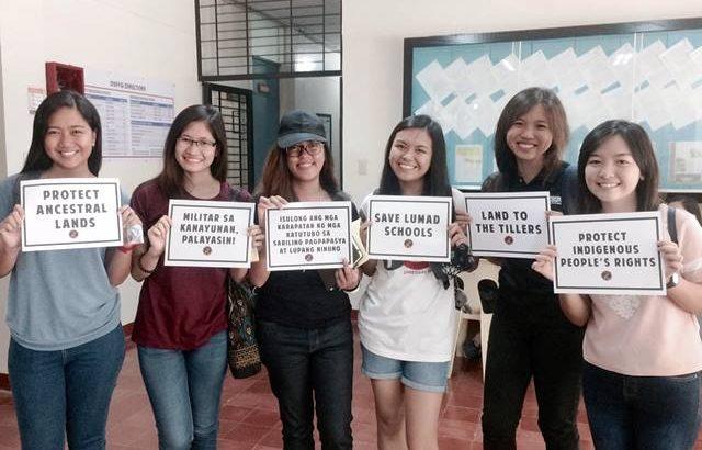 UPLB community welcomes Lakbayan delegates from Mindanao, Visayas