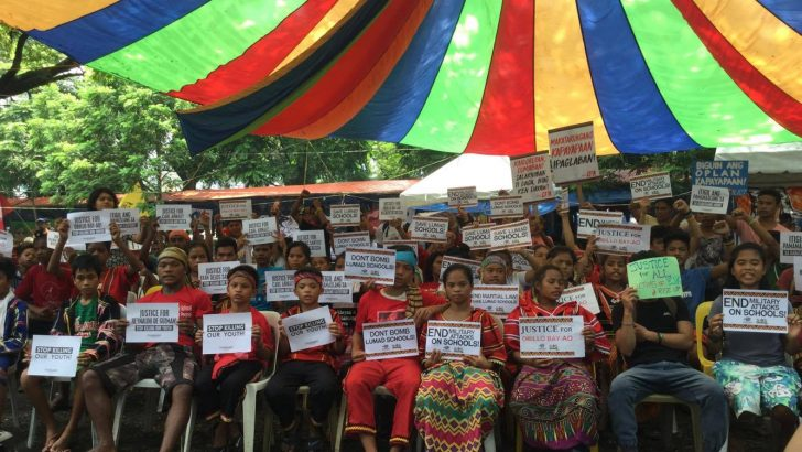 Lakbayan 2017   Lumad children meet victims of Duterte's anti-drug ops
