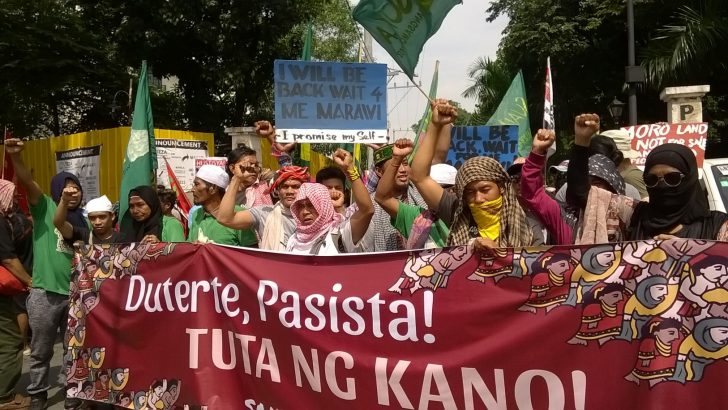 National minorities denounce Duterte as 'US imperialist lackey'