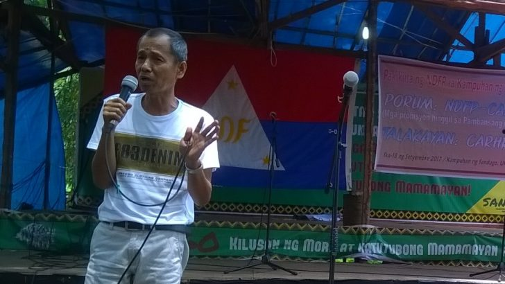 Lakbayan 2017 | NDFP expresses unity with national minorities