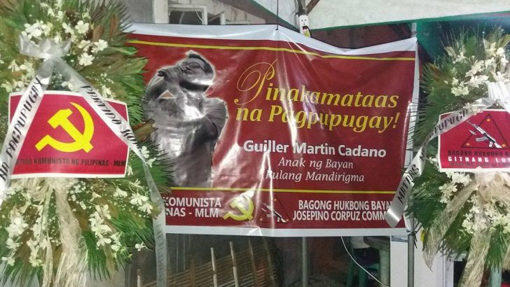 Lessons from the life of Guiller Cadano, martyred Red warrior, 'true scholar of the people'