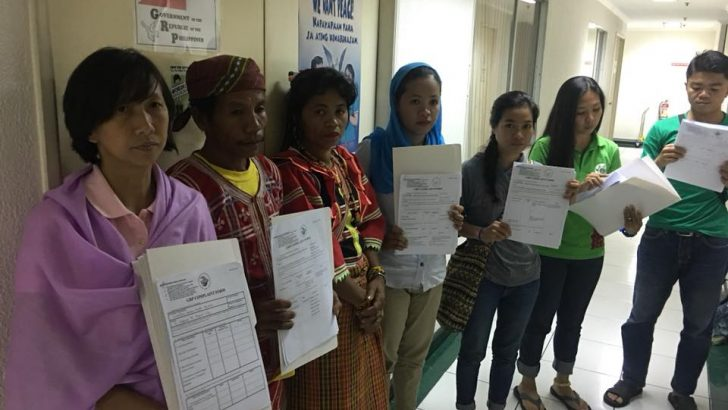 Lakbayan 2017   National minorities file cases of human rights, IHL violations by gov't forces
