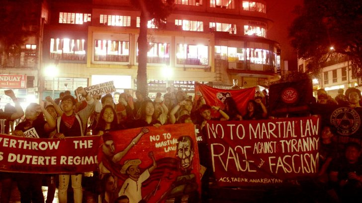 Youth groups hit Roque for underestimating mass movement