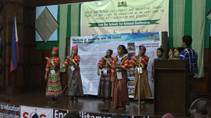 Alliance for Lumad schools holds first national confab