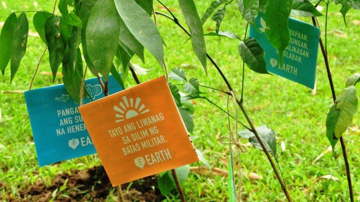 Miriam College hosts forum, tree-planting for environmental defenders