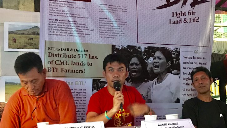 Peasant groups call on public to support fight for genuine land reform, join Oct. 25 protest