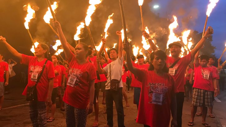 2,000 farmers arrive in Manila to demand accountability for landlessness, peasant killings