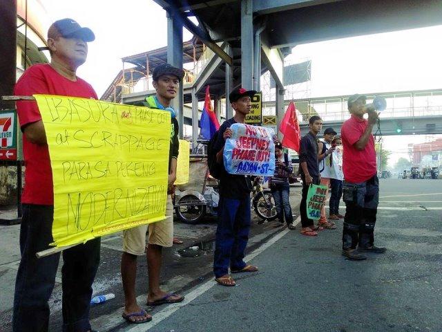 Transport strike